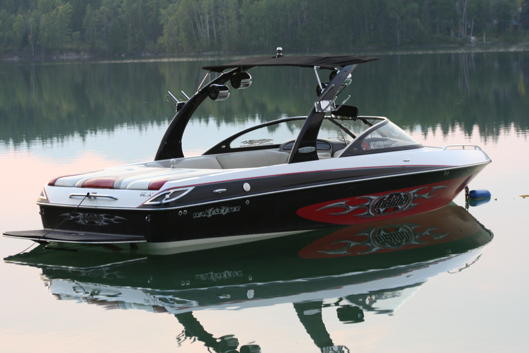 ***SOLD***  2005 MALIBU WAKESETTER 21VLX LOW HOURS AWESOME BOAT