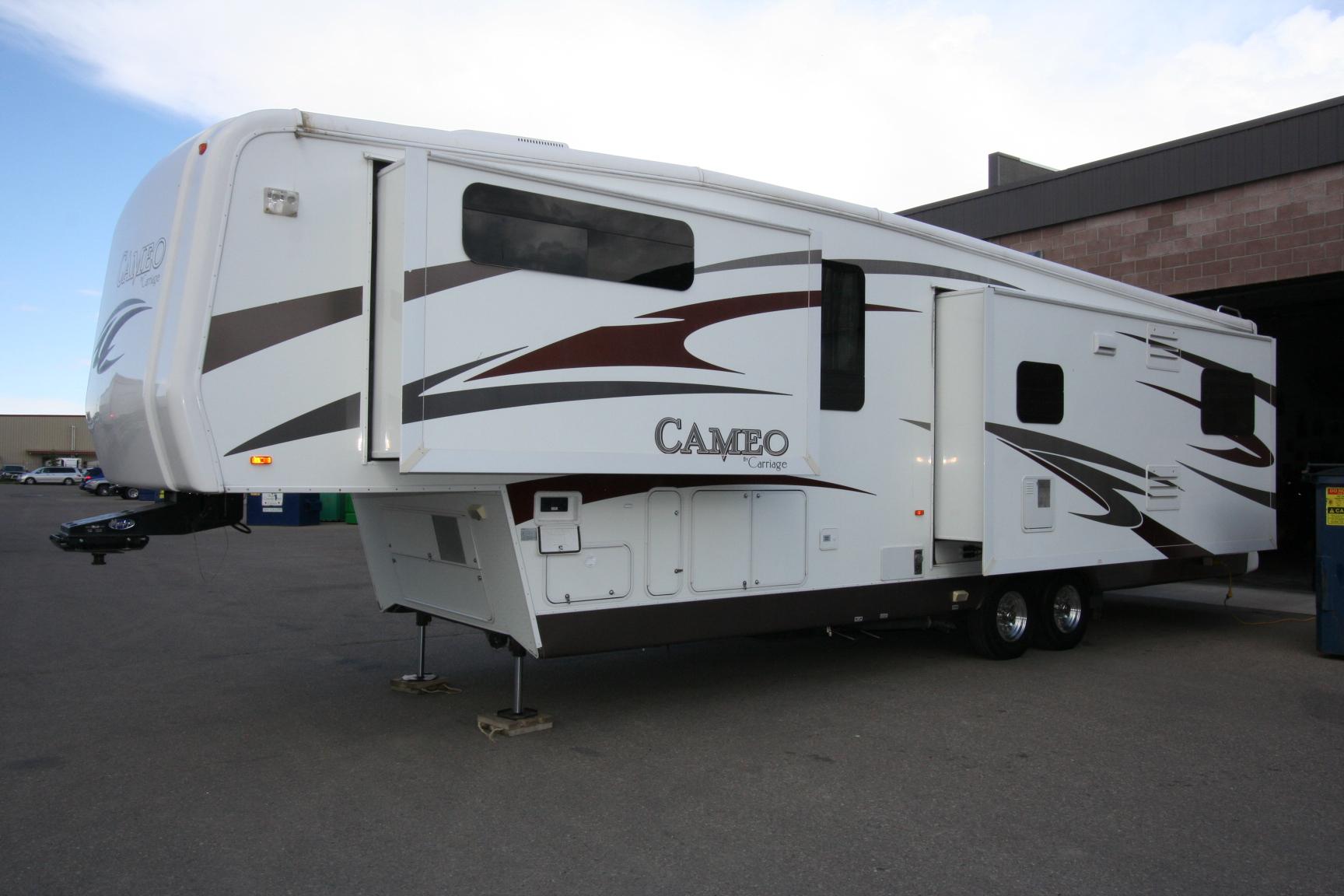2010 CARRIAGE CAMEO 37RE3 ALL SEASON COACH $39900